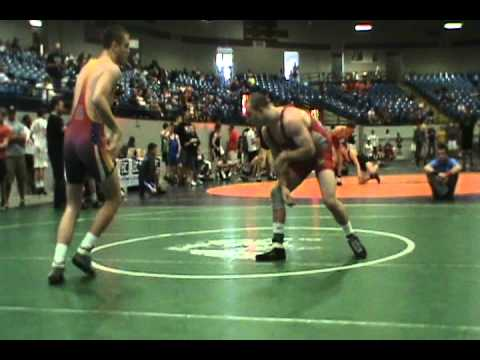 2012 Freestyle State 152lb Juniors Austin Eads vs Eric Bowman
