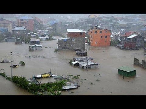 Φιλιππίνες: Τουλάχιστον 16 νεκροί από τον τυφώνα Κοπού