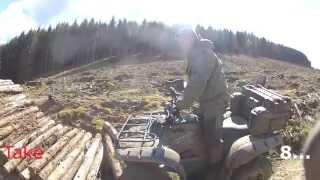 8. Yamaha Grizzly 700 Vs Polaris Sportsman 500HO - Log Challenge