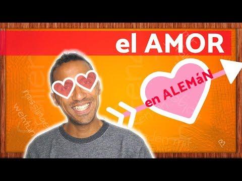 Aprender ALEMÁN - palabras y frases de amor para San Valentin