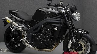 4. 2009  TRIUMPH  SPEED TRIPLE  - National Powersports Distributors