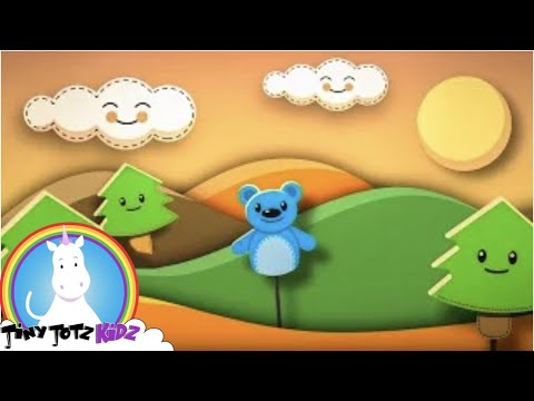 The Bear Song |Sing-Along Bear Song for Preschoolers & Kindergarteners | Kids Songs | TinyToonsMusic