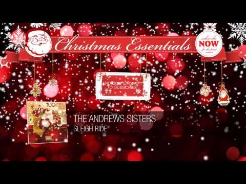 The Andrews Sisters - Sleigh Ride (1950) // Christmas Essentials