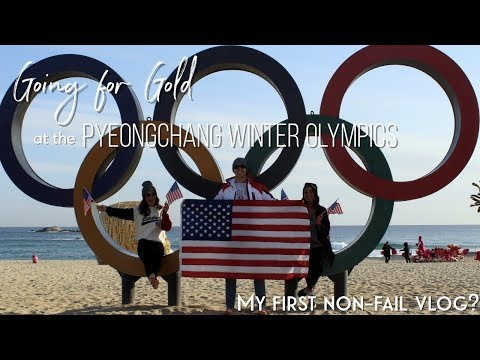 Going for Gold at the 2018 Pyeongchang Winter Olympics (my first non-fail vlog?)