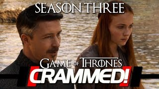 Game Of Thrones Season 3 Recap  Episode 1 - 10 CRAMMED! The Ultimate Recap Catch-up as Season 7 is soon coming out.
