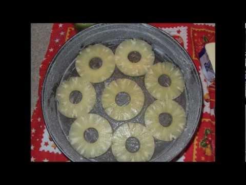 torta all'ananas rovesciata - ricetta