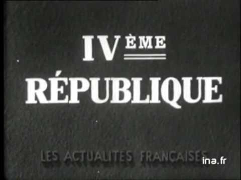 Vincent Auriol devient Président de la République française - 16 janvier 1947