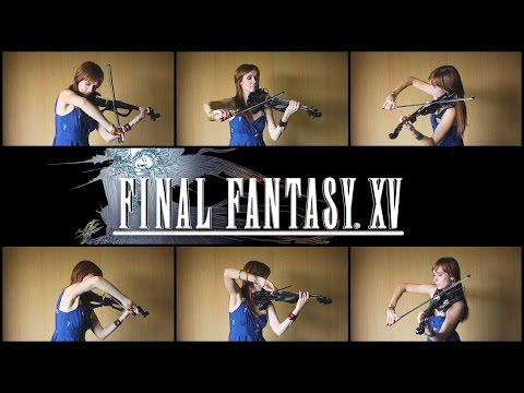 Final Fantasy XV – Exploration Battle Theme (Anastasia Soina Violin)