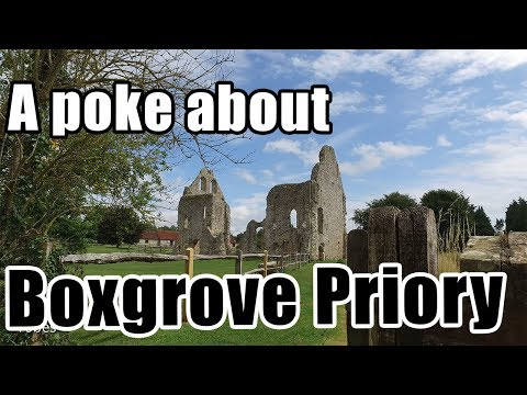 Walks in England: Boxgrove Priory in West Sussex