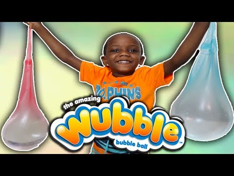 Wubble Bubble Coke & Mentos Experiment