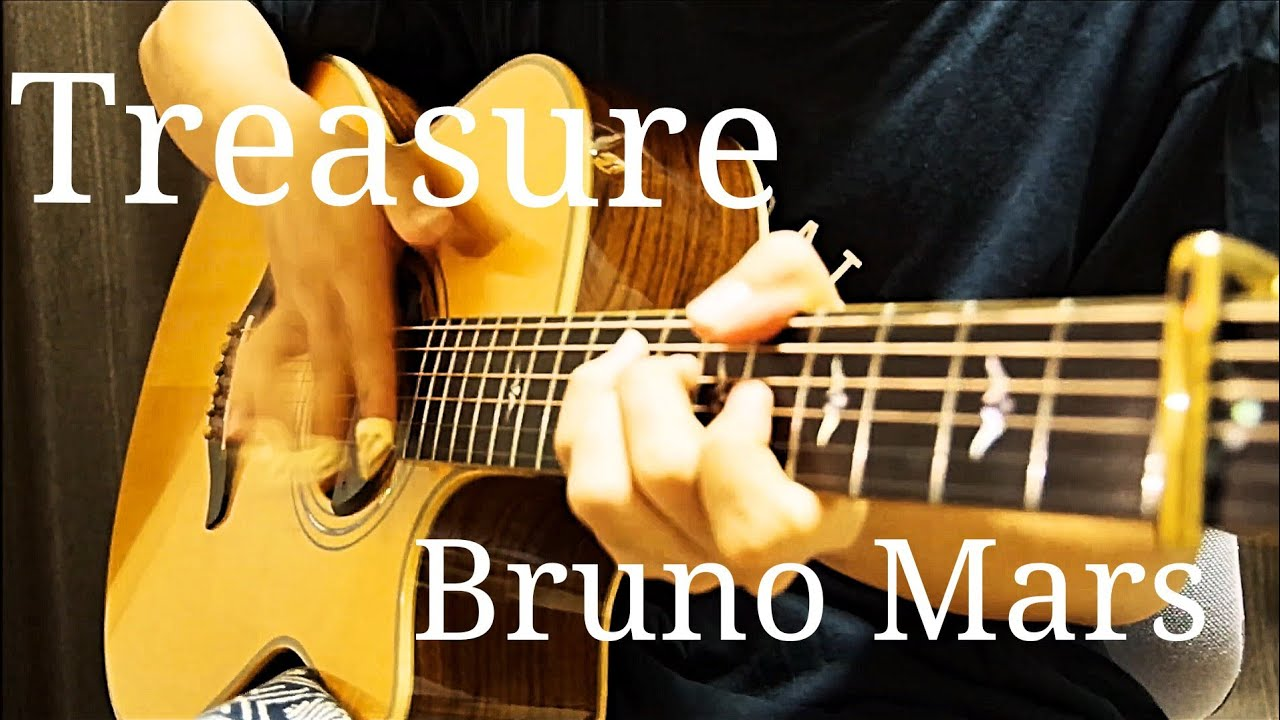 Bruno Mars – Treasure – Acoustic Guitar Cover(Kent Nishimura)Fingerstyle