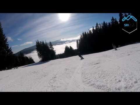 Ski Špičák červená 2