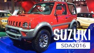 Suzuki: Salão do Automóvel 2016