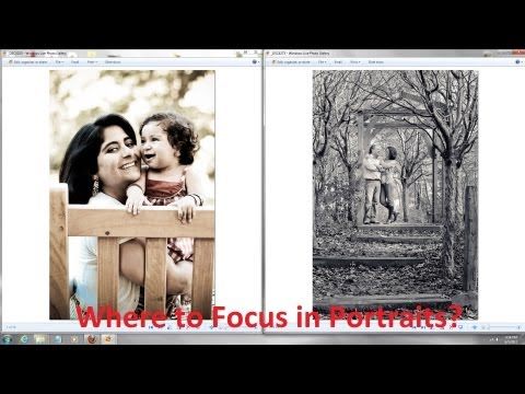 Portrait Photography Tutorial – Which Eye or Person to Focus on? Portrait Photography Tips