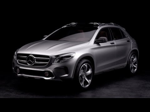 Mercedes-Benz GLA-class Mercedes GLA concept