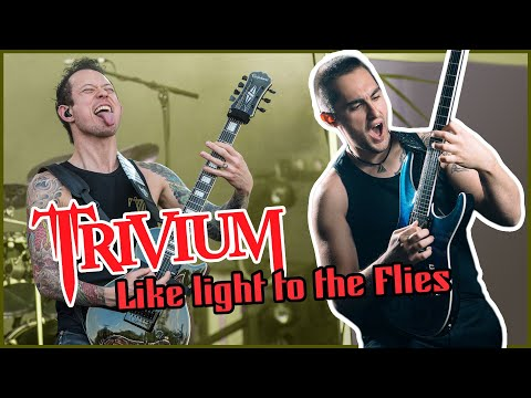 Trivium - Like light to the flies solo tutorial!