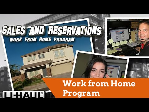 Work from Home Program (U-Haul Sales and Reservations)