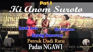 Video Wayang Kulit - Ki Anom Petruk Dadi Ratu Padas Ngawi 2016 3/4 MP3, 3GP, MP4, WEBM, AVI, FLV September 2018