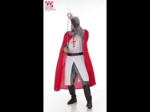 Costume Chevalier Croisé XL-v19669