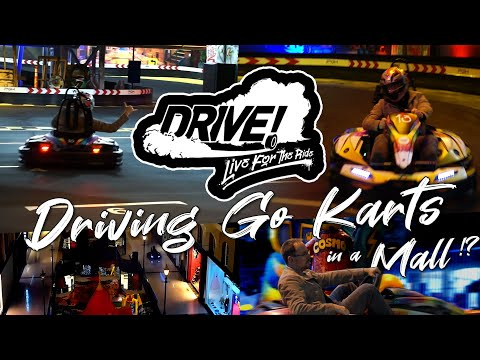 """Experience """"DRIVE"""" - Go Karts at West Edmonton Mall - Exclusive First Look! - Best Edmonton Mall"""