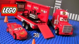 Video Cars 2 Lego Mack's Team Truck 8486 Complete Blocks Assembly Disney Pixar Lightning McQueen MP3, 3GP, MP4, WEBM, AVI, FLV Juni 2017