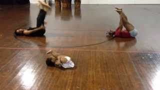 2 year old, Zaya's choreography to Chandelier by Sia! - YouTube