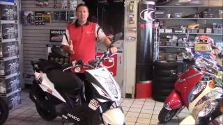 1. 2016 KYMCO Super 8 50R & 50X Scooter Review