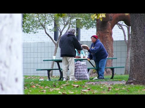 MUST WATCH: How Does A Homeless Man Spend $100?