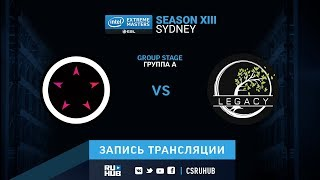 ORDER vs Legacy - IEM Sydney XIII - map2 - de_mirage [SleepSomeWhile, Anishared]