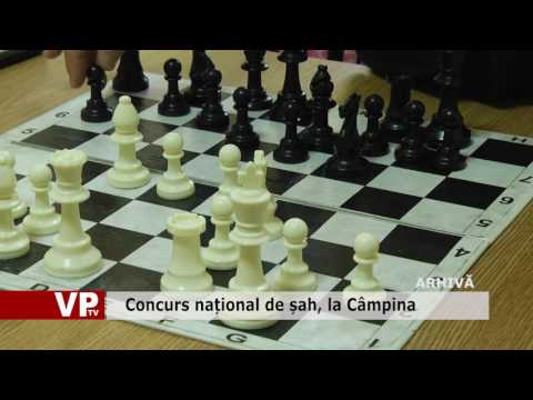 Concurs național de șah, la Câmpina
