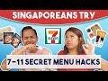 Download Lagu Singaporeans Try: 7-11 Secret Menu Hacks Mp3 Free