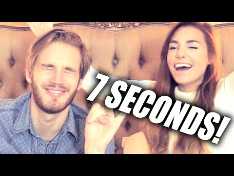 second - Me and Marzia do the famous 7 second challenge! Get awesome games: http://www.g2a.com/PewDiePie All the shoutouts to http://www.youtube.com/amazingphil for c...