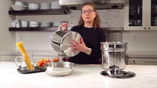 12 Quart Pasta/Steamer Set (4 Piece Set) Demo Video Icon