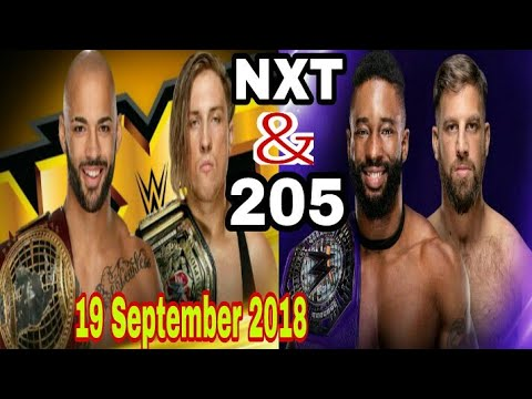 WWE NXT 19 September 2018 highlights preview   9/19/18 205 live highlights preview