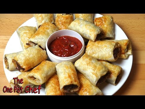 Mexican Recipe: Sausage Rolls Made with Mexican Flavors