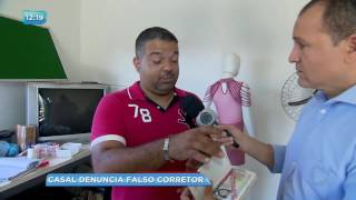 BG - Casal denuncia falso corretor - 19-06-2017