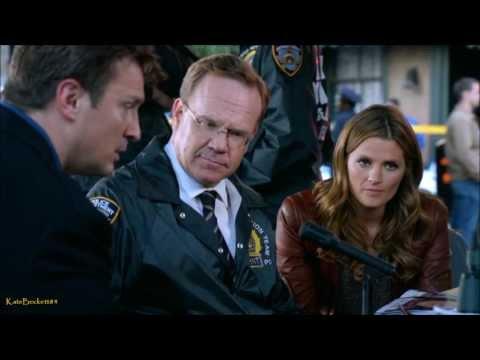 "Castle 6x04 ""Number One Fan"" Castle Hostage Negotiator, Beckett Concerned (HD)"