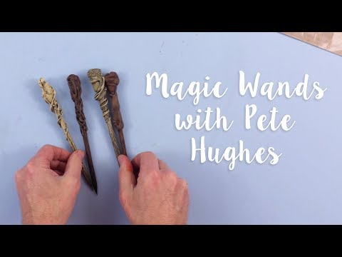 Make your own magic wands! - Upgrade your stationery with Pete Hughes