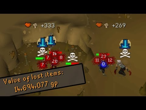 Rushing In Edgeville Dungeon With Dragon Claws (OSRS) (видео)