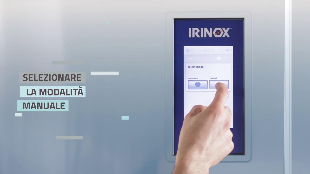 Irinox Multifresh MYA Tutorial - 02 Avvio del ciclo manuale