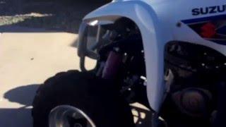 9. 2006 Suzuki Ltz 250 4 Stroke Quad ATV Sound Test !!! Listen !!!!