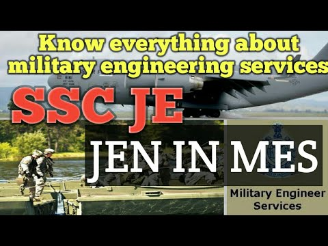 Know Everything About Mes Jen (ssc Je)