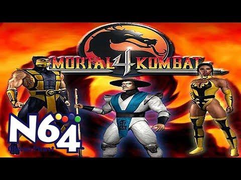 mortal kombat 4 nintendo 64 moves
