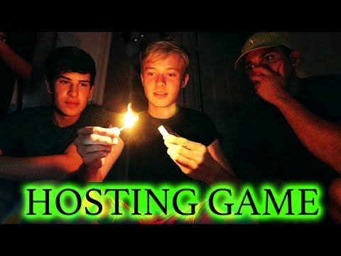 PLAYING THE HOSTING GAME // 3 AM CHALLENGE (scary)