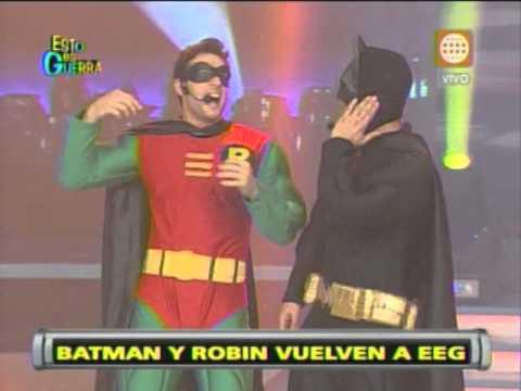 Esto es Guerra: Batman y Robin regresan al programa - 26/06/2013