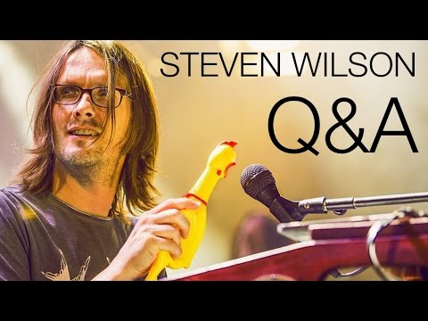 Steven Wilson Facebook Q&A 04/08/2016 (видео)