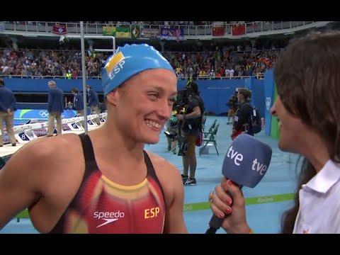 MIREIA BELMONTE gana la medalla de ORO