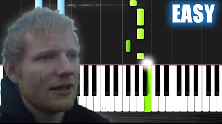 Video Ed Sheeran - Castle On The Hill - EASY Piano Tutorial by PlutaX MP3, 3GP, MP4, WEBM, AVI, FLV Juni 2018
