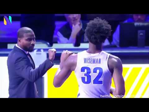 Memphis Tigers Fans Welcome Star Freshman James Wiseman After Emergency Restraining Order vs UIC