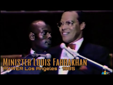 Minister Louis Farrakhan: Power Speech Los Angeles Forum (1985) | From VHS